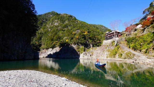 奈良 十津川村 瀞峡