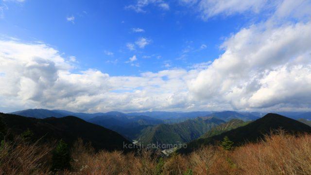 奈良 十津川村 玉置山