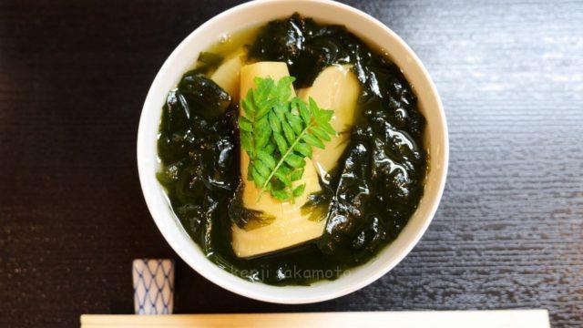 京都和食 若竹煮