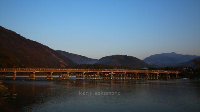 京都 嵐山渡月橋