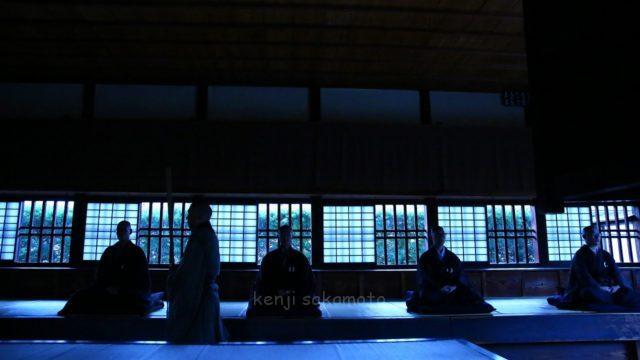 京都 建仁寺 座禅