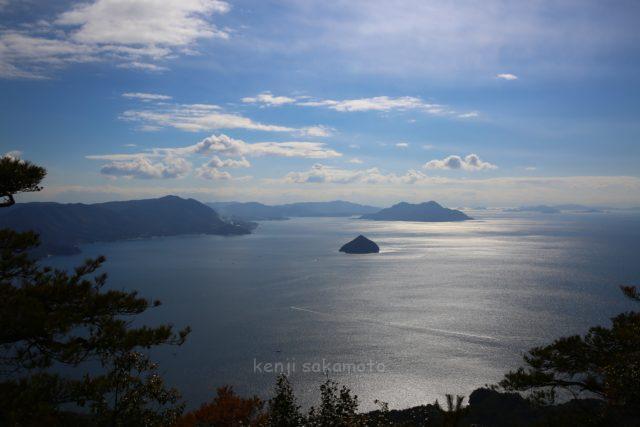 広島 弥山からの海景