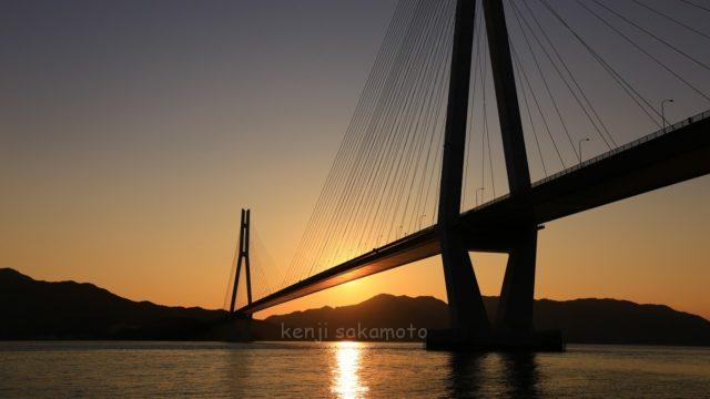 広島 生口島 多々羅大橋