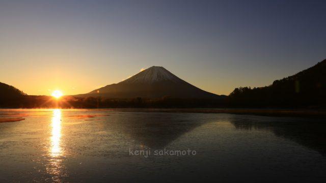 富士山 精進湖