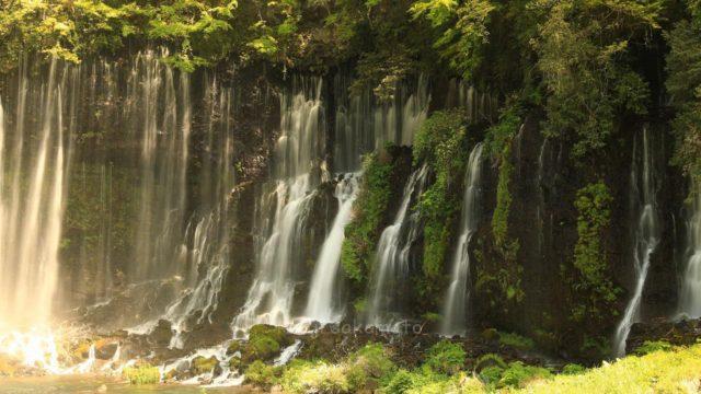 静岡 富士宮 白糸の滝