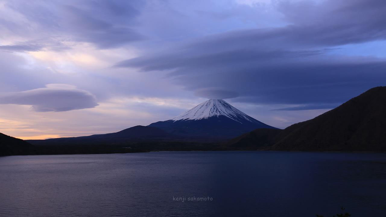 富士山 本栖湖