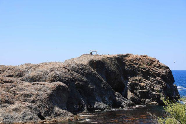 島根 神域の経島