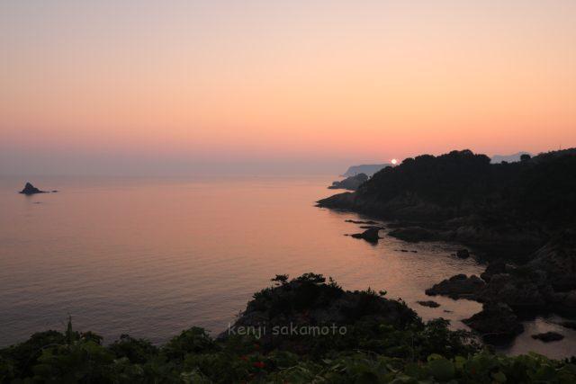 鳥取 浦富海岸の朝景
