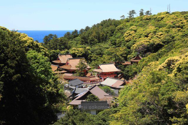 島根 日御碕神社全景